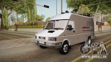 Zastava Daily RTS Newsvan für GTA San Andreas