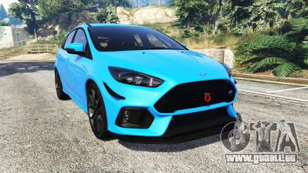 Ford Focus RS (DYB) 2017 [replace] pour GTA 5