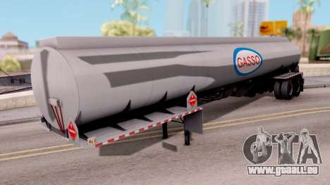 Tank Trailer from American Truck Simulator pour GTA San Andreas