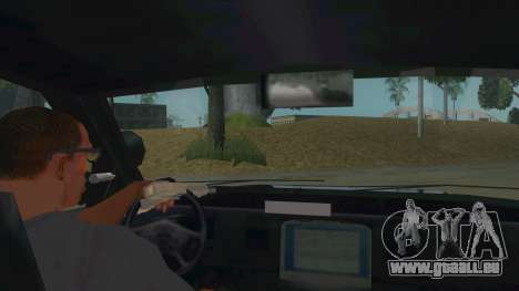 Ford Crown Victoria Police Interceptor für GTA San Andreas Innenansicht