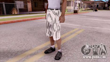 Culotte camo pour GTA San Andreas