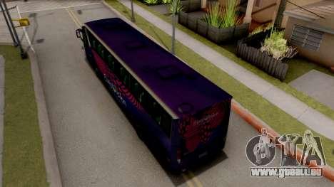 Scania K420 Eurovision 2017 pour GTA San Andreas vue arrière