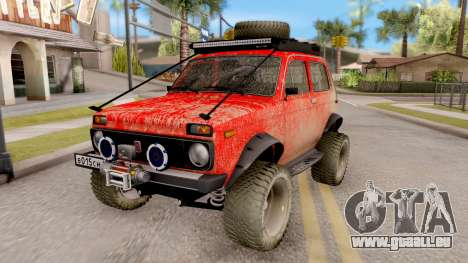 VAZ Niva 2121 Offroad pour GTA San Andreas