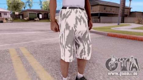 Culotte camo pour GTA San Andreas deuxième écran