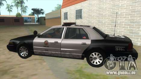Ford Crown Victoria Police Interceptor für GTA San Andreas linke Ansicht