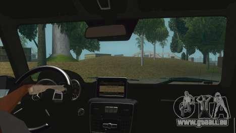 Mercedes-Benz G55 AMG für GTA San Andreas Innenansicht