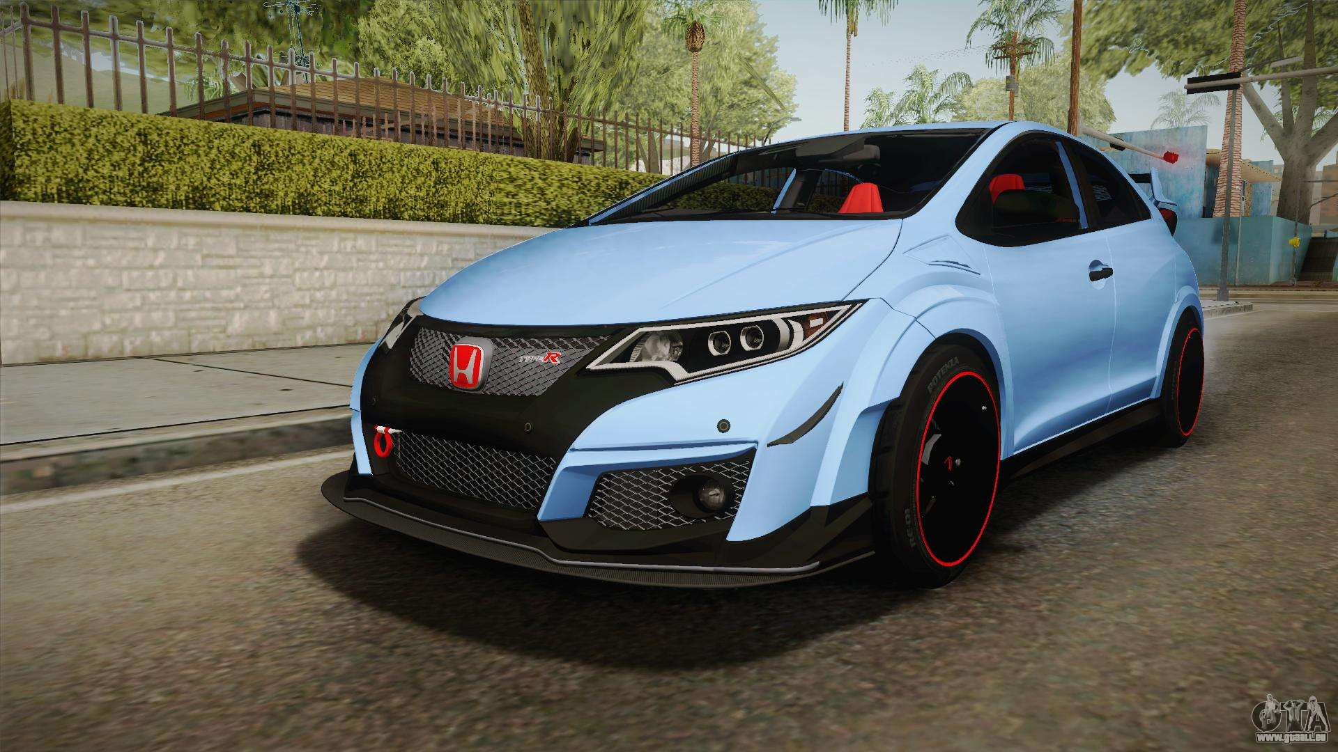 honda civic type r 2015 pour gta san andreas. Black Bedroom Furniture Sets. Home Design Ideas