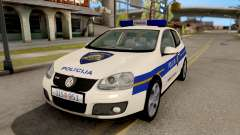 Volkswagen Golf V Croatian Police Car pour GTA San Andreas