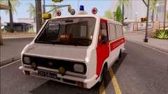 RAF 22031 Ambulance de Pripyat