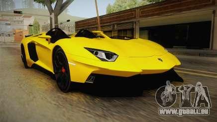Lamborghini Aventador J für GTA San Andreas