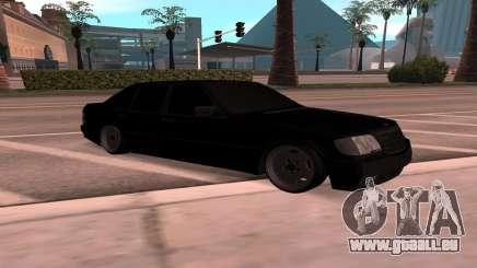 Mercedes-Benz 63S Brabus für GTA San Andreas
