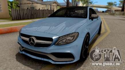 Mercedes-Benz C63S AMG Coupe für GTA San Andreas
