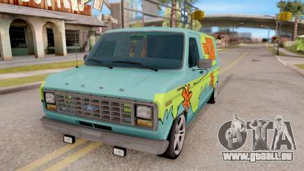Ford Econoline 150 Scooby-Doo Mystery Machine pour GTA San Andreas