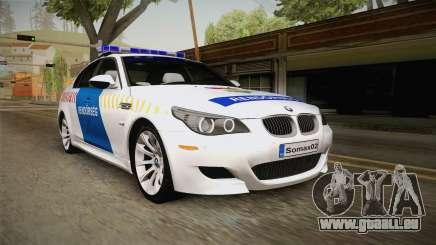 BMW M5 E60 Hungary Police für GTA San Andreas