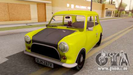 Mini Cooper 1300 Mr Bean für GTA San Andreas