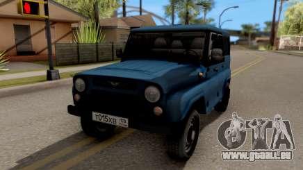 UAZ Hunter-V8-Antigene AcademeG für GTA San Andreas