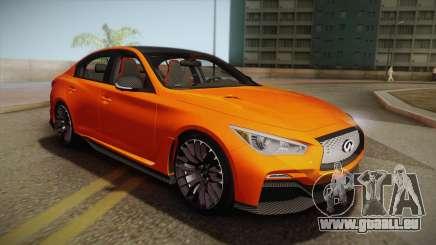 Infiniti Q50 Eau Rouge 2014 pour GTA San Andreas