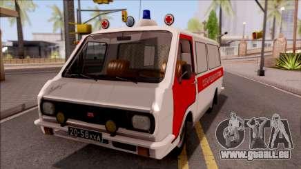 RAF 22031 Ambulance de Pripyat pour GTA San Andreas