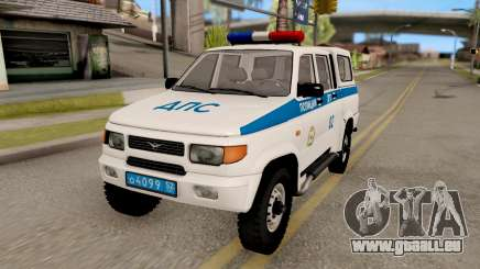 UAZ Simbir DPS für GTA San Andreas