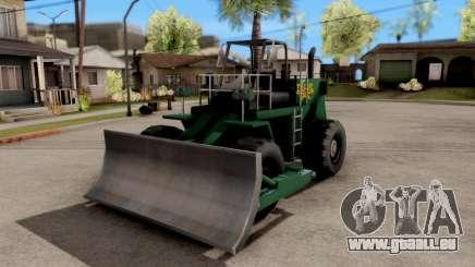 Paintable Dozer pour GTA San Andreas