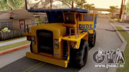 Paintable Dumper für GTA San Andreas