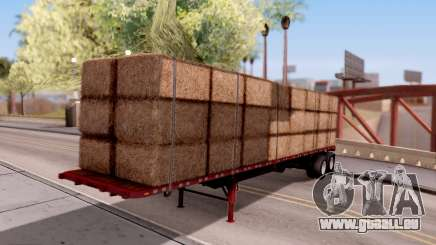 FlatBed Trailer From American Truck Simulator pour GTA San Andreas