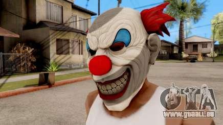 Maske Böser Clown für GTA San Andreas