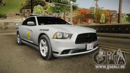 Dodge Charger 2012 Iowa State Patrol pour GTA San Andreas
