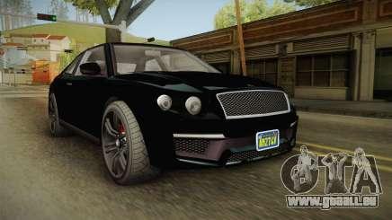 GTA 5 Enus Huntley Coupè FIV pour GTA San Andreas