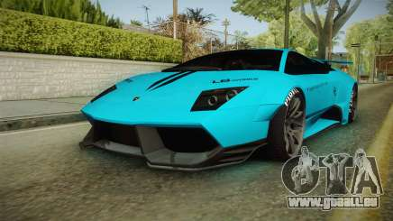 Lamborghini Murcielago LP670-4 SV Liberty Walk pour GTA San Andreas