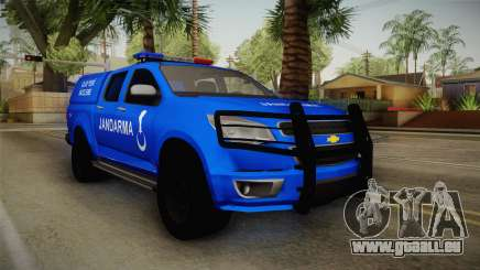 Chevrolet S10 Turkish Gendarmerie CSI Unit für GTA San Andreas