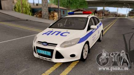 Ford Focus 3 Russisan Police pour GTA San Andreas