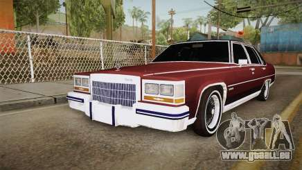 Cadillac Fleetwood Brougham Low Rider 1980 pour GTA San Andreas