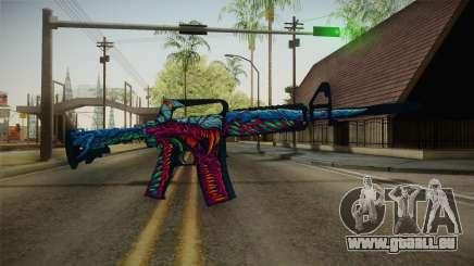 CS:GO - M4A1-S Hyper Beast No Silencer für GTA San Andreas