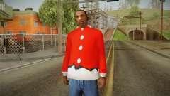 Veste rouge, Santa Claus