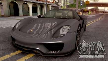 Porsche 918 Spyder 2013 für GTA San Andreas