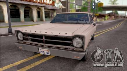 Plymouth Belvedere 1965 pour GTA San Andreas