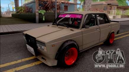 VAZ-2107 Combat Classic für GTA San Andreas