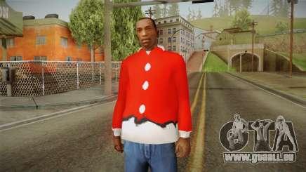 Veste rouge, Santa Claus pour GTA San Andreas