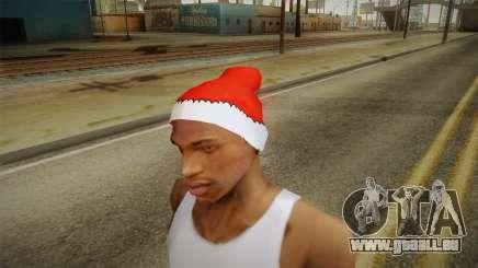 Rouge chapeau de Santa Claus pour GTA San Andreas
