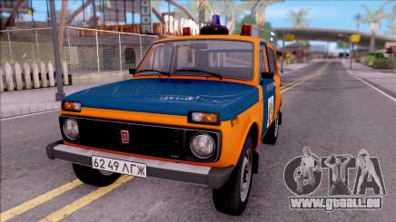 VAZ-2121 Niva de la Police de l'URSS pour GTA San Andreas