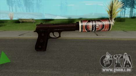 Desert Eagle BALTIKA Edition pour GTA San Andreas