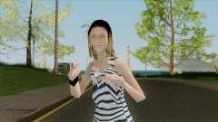 Das Mädchen in der Weste für GTA San Andreas