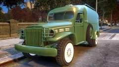 World War II Car pour GTA 4