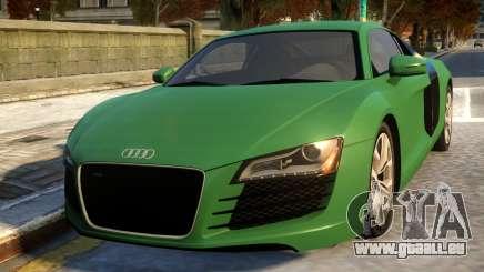 Audi R8 4.2FSI 2008 für GTA 4