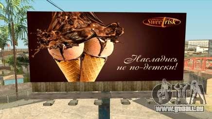 Kreative Werbung für GTA San Andreas