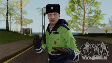 DPS officier de la v. 2 pour GTA San Andreas