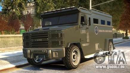 Riot Non ELS pour GTA 4
