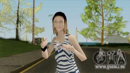 La jeune fille à la veste pour GTA San Andreas