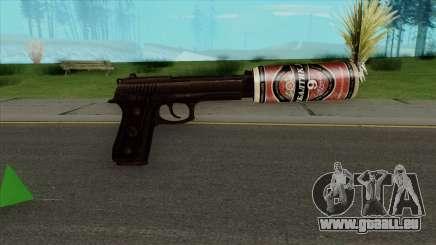 Desert Eagle BALTIKA Edition für GTA San Andreas